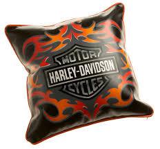 Harley Davidson Home Decor by Amazon Com Harley Davidson Tattoo Decorative Pillow Home U0026 Kitchen