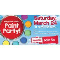 ace hardware paint colors great lakes ace hardware hosts neighborhood paint party and color of