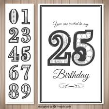 birthday cards template vector free download