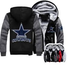 cowboys sweater winter thicken hoodie team dallas cowboys warm sweatshirt lacer