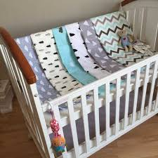 Cot Bedding Sets For Boys Baby Bedding Sheets Cotton Kids Soft Crib Sheet 150 110cm Baby