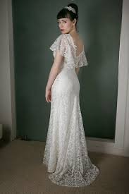 vintage lace wedding dress vintage inspired wedding dress of the week in dreamy original