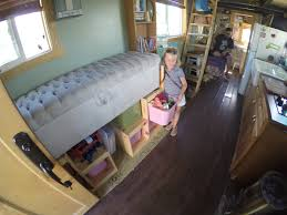 Tiny House For Family Of 4 by Photos See How Family Of 4 Lives In 267 Sq Foot Tiny House