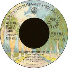 What Are The Lyrics To Blinded By The Light Manfred Mann U0027s Earth Band Blinded By The Light Vinyl At Discogs