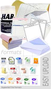 ncr forms carbonless paper custom form printing services