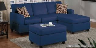 sofa stunning navy sectional sofa for appealing interior design