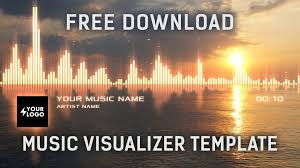 audio spectrum music visualizer after effects template free