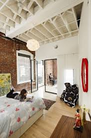 Portland Laminate Flooring Modern Loft In Portland Oregon Apartments With Double Bed And