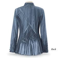 Denim Blue Steampunk Denim Blue Jacket Women U0027s Clothing U0026 Symbolic Jewelry
