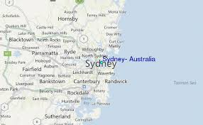 sydney australia map sydney australia tide station location guide