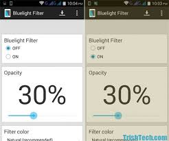Protect Eyes From Blue Light With Bluelight Filter For Android