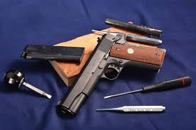 colt 1911 government 45 acp complete disassembly technics