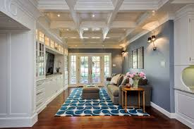 Modern Blue Rug Furniture Fancy Colorful Blue And White Modern Rug Under The Grey