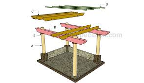 How To Build Your Own Pergola by Diy Pergola Plans Howtospecialist How To Build Step By Step