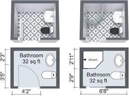 small bathroom design plans best 25 small bathroom floor plans