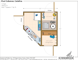 Cottage Floor Plans Ontario Image Result For Pool Cabana Floor Plans Home Floorplans Small