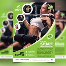 fitness flyer template fitness flyer template v2 by aam360 graphicriver
