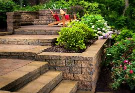 patio beauteous backyard landscaping ideas hill the garden