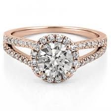 gold halo engagement rings split shank halo engagement ring split shank rings abila do