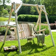 wooden bench swing benches wooden porch swing frame plans wood