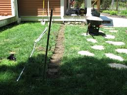 trenching your lawn without damage a concord carpenter
