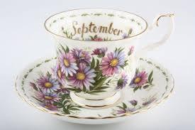 Flower Of The Month Royal Albert Flower Of The Month Series Montrose September