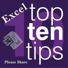 10 top excel keyboard shortcuts advanced excel tips u0026 tricks