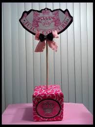 juicy couture theme centerpiece juicy couture princess birthday