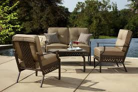 Patio Furniture Milwaukee Wi by La Z Boy Outdoor Kennedy 4pc Seating Set