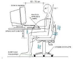 postura corretta scrivania posizione ergonomica postura corretta al computer distanza dal
