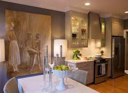 Neutral Colored Kitchens - rustic kitchen wall art kitchen modern with painting wall art desk