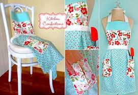 tablier de cuisine couture confections de cuisine en vintage modern moda tablier plissé