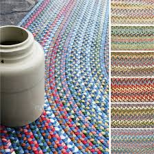 rhody rug charisma indoor and outdoor oval braided rug by rhody