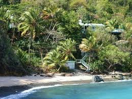 visit st thomas the beach house on caret bay