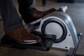 Exercise At Your Desk Equipment Alumni Trio U0027s Under Desk Elliptical Machine Cubii Moves Forward