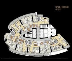 paramount damac towers floor plans downtown dubai uae archi