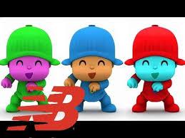 film kartun untuk anak bayi bayi belajar warna dengan saya berbicara pocoyo warna animasi untuk