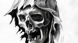 grim reaper drawing drawing pencil