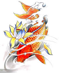 pdf format book 40pages butterfly koi flower god tiger