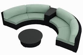 Round Outdoor Sofa Curved Sofa