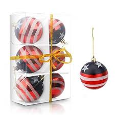 esscoe ornaments shatterproof tree