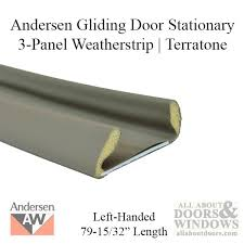 Patio Door Weatherstripping Andersen Perma Shield Gliding Door Weather 3 Panel