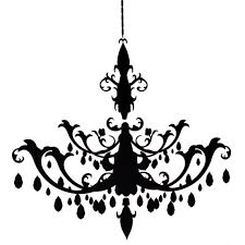 Chandelier Wall Decal Black Chandeliers Latest Trend We Love Sayeh Pezeshki La