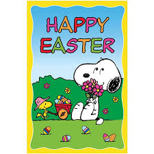 snoopy happy easter flag charles m schulz s snoopy s gallery
