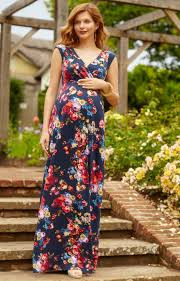 alana maternity maxi dress midnight garden maternity wedding