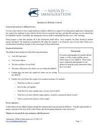 affidavit samples sample resume for project manager