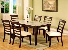 dining room stunning cool granite top dining table sets for your