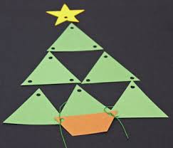 Arts And Crafts Christmas Tree - funezcrafts easy christmas crafts construction paper triangles