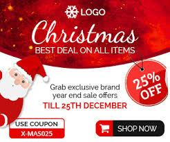 christmas sale christmas sale banner christmas shopping template best ad design