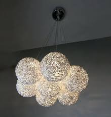 Glass Balls Chandelier Round Glass Ball Chandelier Round Globe Chandelier With White